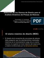 AVerri Seleccion de Sismos de Diseno 2017