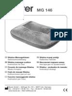 Beurer - MG 146 - Instruction for use - Shiatsu massage cushion.pdf