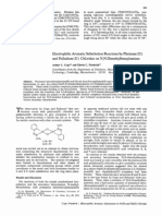 J. Am. Chem. Soc. 1968 CopelaElectrophilic Aromatic Substitution Reactions By