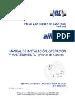 Manual de IO&M ValvulaDeControl AiRFlex_2013