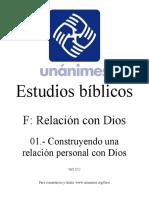 Construyendo Una Relacion Personal Con Dios