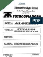 Finales Resueltos 2007-2011