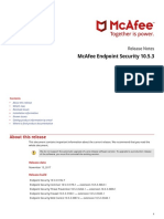McAfeeEndpointSecurity 10-5-3 ReleaseNotes