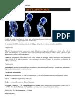 Entrenador Personal - Osteoporosis