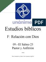 El Salmo 23 Pastor y Anfitrion