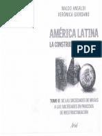America Latina, Waldo Ansaldi