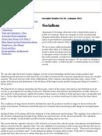 Socialist Studies 81