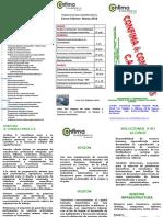 Programación Confima en.- FEB.-mar. 2018