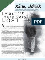January 2009 Spokane Union Gospel Mission Newsletter