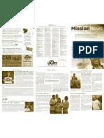 October 2009 Spokane Union Gospel Mission Newsletter