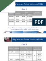 Regimen Retenciones IGV