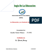 Tarea 4 de Sociologia de La Educacion.