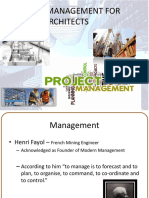 Project Management MArch