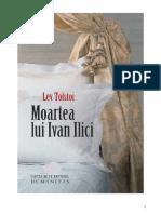 Moartea Lui Ivan Ilici