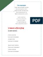 Poems 1º Grade