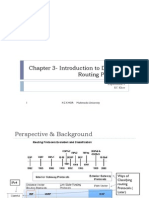 Chapter 3- Intro to Dynamic Routing Protocols