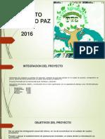 Proyecto Sembrando Paz