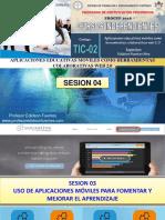 Sesion 04 Tic-02 2018 Uso y Aplicaciones Moviles
