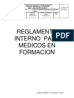 Reglamento Para Med Interno 2018