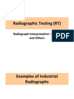 MMET 402 Lecture Notes 5c - RT Radiograph Interpretation