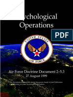 Bozzo Giuliano Us Air Force Psychological Operations