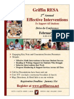 """Only a few slots left for the """"Effective Interventions"""" Drive-In Conference! #GRESA #NCSSBeTheBest #FCBOE #EnsuringSuccess #EdChat"""
