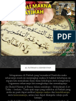 Al Fatihah Tafsir