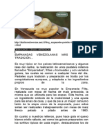 DESAYUNOS Empanadas