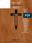 1611 Bible Kjv Sword of God †