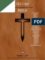 1611 Bible Kjv Sword of God †