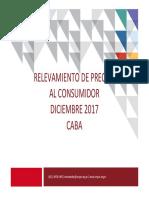 Informe Precios Diciembre 2017
