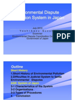 Yoshikazu Suzuki - Environmental Dispute Resolution System in Japan