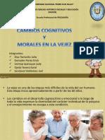 Cambios Cognitivos y Morales en La Vejez Diapositivas