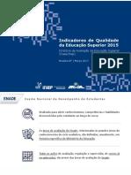 Apresentacao Indicadores de Qualidade Da Educacao Superior2015