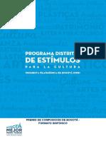 Premio de Composicion de Bogota - Formato Sinfonico