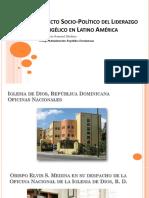 Impacto Socio-Politico Del Li Derazgo Evangélico en LA - OB. ELVIS MEDINA