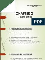 Advanced Mathematics_chapter 2