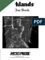 Darklands Cluebook (with bookmarks)