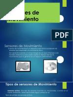 Sensores de Movimiento