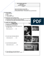 Job Sheet 1 (Balencing)