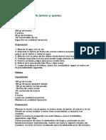 Arrolladitos de Jamón y Queso (Hna. Bernarda)