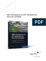 Sappress Abap Development for Sap Netweaver Bi (Sample)