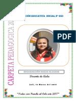 Carpeta Pedagogica Enca Inicial 2017