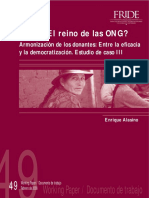 Perú ¿El Reino de Las ONG?