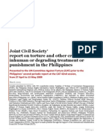 Philippine NGOs Alternative CAT Report