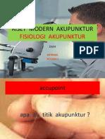 Riset Modern Akupunktur -2014 Afa