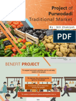 Project of Traditional Market