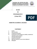 Silabo Programación II-2017-I Por Competencias