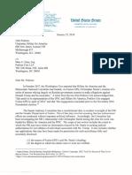 Chuck Grassley Letter to John Podesta
