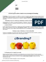 4 Errores Que No Debes Cometer en Tu Estrategia de Marketing